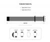 Armorstandart Milanese Loop Band для Apple Watch All Series 38/40 mm Burgundy (ARM55255) мал.3