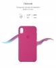 Apple iPhone XR Silicone Case (OEM) - Dragon Fruit рис.3