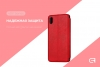 Leather case 40Y for Xiaomi Redmi 7A Red рис.3