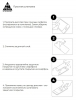 Защитное стекло Armorstandart Full Glue для Nokia 1 Plus Black (ARM55441-GFG-BK) мал.6