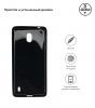 Soft Matte Slim Fit TPU Case for Nokia 1 Plus Black рис.2