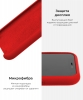 Silicone Case Original for Apple iPhone 11 Pro (OEM) - Red мал.6
