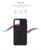 Silicone Case Original for Apple iPhone 11 Pro Max (OEM) - Black мал.3