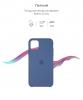 Silicone Case Original for Apple iPhone 11 Pro Max (OEM) - Alaska Blue мал.3