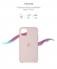 Silicone Case Original for Apple iPhone 11 Pro Max (OEM) - Pink Sand мал.3