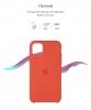 Silicone Case Original for Apple iPhone 11 Pro Max (OEM) - Orange мал.3