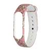 Xiaomi ремешок Mi Band 4/3 (Pink with flowers) мал.1