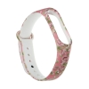 Xiaomi ремешок Mi Band 4/3 (Pink with flowers) мал.2
