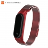 ArmorStandart Metal Milanese Magnetic Band 4303 for Xiaomi Mi Band 4/3 Red мал.1