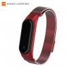 ArmorStandart Metal Milanese Magnetic Band 4303 for Xiaomi Mi Band 4/3 Red рис.1