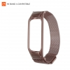 ArmorStandart Metal Milanese Magnetic Band 4303 for Xiaomi Mi Band 4/3 Rose Gold рис.1