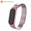 ArmorStandart Metal Milanese Magnetic Band 4303 for Xiaomi Mi Band 4/3 Rose Pink рис.1