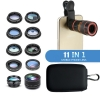 Phone Camera Len set 11-in-1 with 8X long len рис.1
