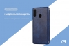 Leather case 40Y for Samsung A20s (A207) Dark Blue рис.3