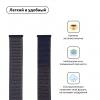Armorstandart Nylon Band для Apple Watch All Series 38/40 mm Midnight Blue (ARM55847) мал.2