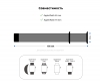 Armorstandart Nylon Band для Apple Watch All Series 42/44 mm Pink (ARM55854) мал.3