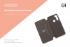 Чехол-книжка Armorstandart 40Y Case для Xiaomi Redmi Note 8 Rose Gold (ARM55797) рис.4