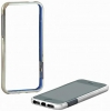 Uniico Chrome Bumper 2in1 iPhone 5/5S/SE Silver рис.1