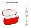 Airpods Pro Ultrathin Silicon case Red (in box) мал.2