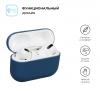 Airpods Pro Ultrathin Silicon case Dark Blue (in box) мал.2