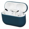 Airpods Pro Ultrathin Silicon case Grey Blue (in box) рис.1