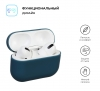 Airpods Pro Ultrathin Silicon case Grey Blue (in box) мал.2