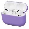 Airpods Pro Ultrathin Silicon case Purple (in box) мал.1