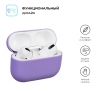 Airpods Pro Ultrathin Silicon case Purple (in box) рис.2