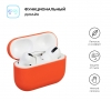 Airpods Pro Ultrathin Silicon case Orange (in box) рис.2