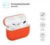 Airpods Pro Ultrathin Silicon case Orange (in box) мал.2