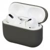 Airpods Pro Ultrathin Silicon case Dark Grey (in box) мал.1