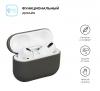 Airpods Pro Ultrathin Silicon case Dark Grey (in box) мал.2