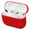 Airpods Pro Ultrathin Silicon case Crimson (in box) мал.1