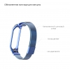 ArmorStandart Metal Milanese Magnetic Band 4303 for Xiaomi Mi Band 4/3 Blue мал.3