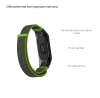 Ремешок нейлоновый 4303 ArmorStandart для Xiaomi Mi Band 4/3 Grey/Green мал.3
