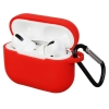 Airpods Pro Silicon case Red (in box) мал.1
