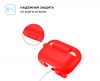 Airpods Pro Silicon case Red (in box) мал.3