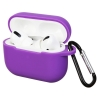 Airpods Pro Silicon case Ultraviolet (in box) рис.1