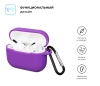 Airpods Pro Silicon case Ultraviolet (in box) рис.2