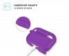 Airpods Pro Silicon case Ultraviolet (in box) рис.3