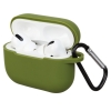Airpods Pro Silicon case Khaki Green (in box) рис.1