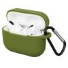 Airpods Pro Silicon case Khaki Green (in box) мал.1