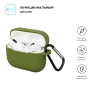 Airpods Pro Silicon case Khaki Green (in box) рис.2