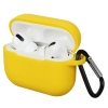 Airpods Pro Silicon case Yellow (in box) рис.1