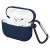Airpods Pro Silicon case Midnight Blue (in box) мал.1