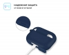 Airpods Pro Silicon case Midnight Blue (in box) мал.3