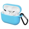 Airpods Pro Silicon case Light Blue (in box) мал.1