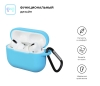 Airpods Pro Silicon case Light Blue (in box) рис.2