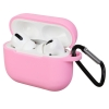 Airpods Pro Silicon case Light Pink (in box) мал.1