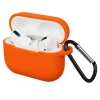 Airpods Pro Silicon case Orange (in box) рис.1